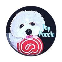 ピンバッジ 犬 トイプードル ピンバッチブローチ 犬 ピンバッジ ピンバッジ 犬