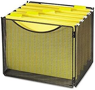 SAF2170BL - Safco Onyx Mesh Desktop Box File