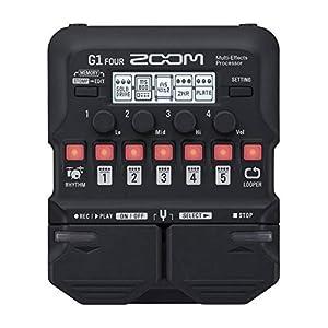 Zoom – G1 FOUR/IFS – pedaliera multieffetto, amp-simulator per chitarra