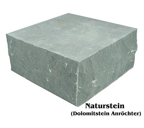 Naturstein Dolomitstein Anröchter (20 x 20 x ca 8 cm, Naturstein)