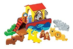 Orange Tree Toys Small Noah's Ark Playset