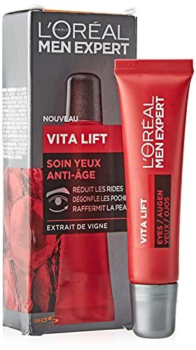 L Oréal Men Expert - Soin Yeux Anti-Âge pour Homme - Pour les Peaux Matures - Vita Lift - 15 ml