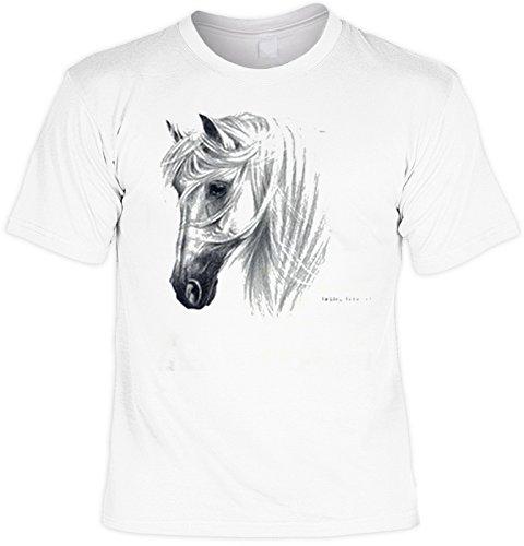 Art & Detail Shirt Andalusier PferdeTshirt TRANKO - Andalusian Fb weiß Größe 3XL