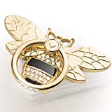 Bee Cell Phone Ring Holder with Crystal Stone, Allengel Sparkly Finger Kickstand...