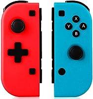 GEEMEE Mando para Nintendo Switch, Bluetooth Wireless Controller Gamepad Joystick Controlador De Reemplazo Izquierdo Y...