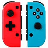 GEEMEE Controller Wireless per Nintendo Switch, Joystick Gamepad Bluetooth Sostituzione per JoyCon,Doppio Shock Giroscopio a 6 Assi,Compatibile Nintendo Switch PRO