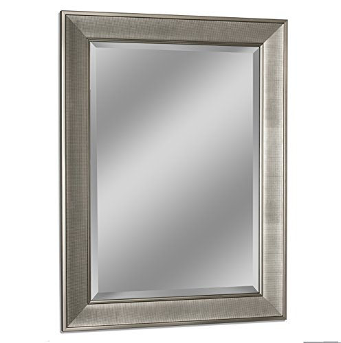Headwest 8013 Pave Wall Mirror in Brush -