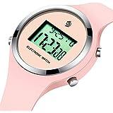 Watch,Girls Digital Jelly Watch Elegant Sports...
