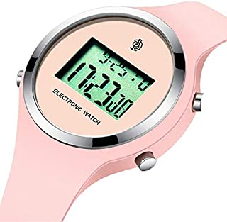 Watch,Kids Digital Jelly Watch Elegant Sports Waterproof Watch,Simple Cute Wrist Watches with Alarm Stopwatch Outdoor LED Multi Functional Wrist Watches