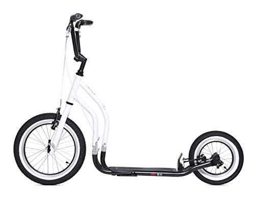 Yedoo Scooter Tretroller City New Tokyo 16/12 Zoll Limited Edition weiß/schwarz