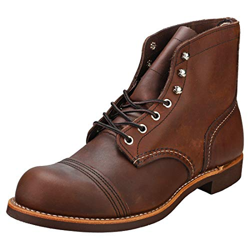 Red Wing Heritage Iron Ranger 6-Inch Boot, Amber Harness, 7 D(M) US