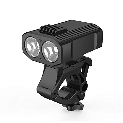 WWHM Luce Anteriore Bici,Luci LED per Bicicletta Ricaricabili USB Luce Bici, Quattro modalità di Illuminazione,et luci Bici Impermeabili IP65 per Pilota Notturno,Ciclismo e Campeggio