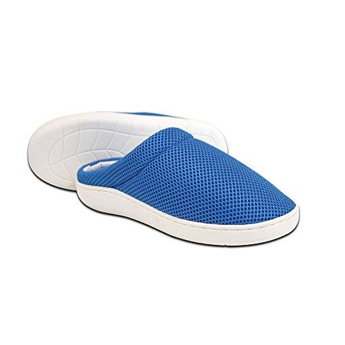 Stepluxe® Slippers Summer Edition, Hausschuhe mit Gel-Sohle, Größe: M (39/40) - Original aus TV-Werbung