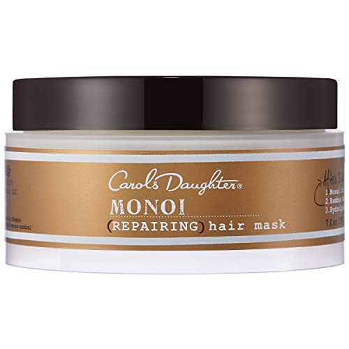 Carol's Daughter Monoi Deeply Repairing Hair Mask with Monoi Oil Made From Tahitian Tiare Gardenia Flowers and Coprah Coconut Oil and No Parabens, 7 oz
