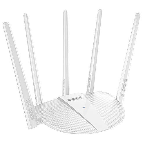 ZENG Gigabit Draadloze Router, Wifi Signaal Versterker Repeater Wifi Range Extender Smart Router 1200Mbps Draadloze N Kabel Routernetwork Extender voor Serververbinding