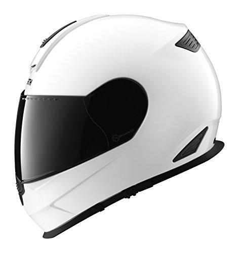 SCHUBERTH S2 Sport Glossy Weiss Motorradhelm, Farbe weiß, Größe XS (52/53)