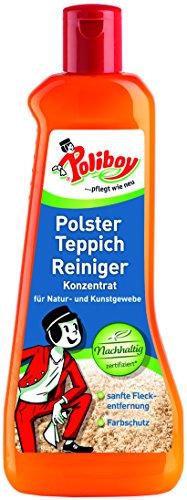 Poliboy - Polster Teppich Reiniger - sanfte Fleckentfernung - Reiniger für Polster und Teppiche - Bodenreinigung - Einzeln - 500ml - Made in Germany