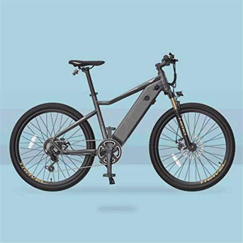 WJSWD Bicicleta de nieve eléctrica, aleación de aluminio, bicicleta eléctrica, batería de litio de 48 V 10 A, motor de 250 W para adultos al aire libre, batería de litio para adultos