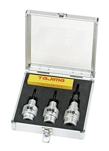 タジマ(Tajima) ビニール絶縁電線用皮剥き ソケット型CV線ストリッパー ムキソケ 固定式 60・100・150セット 600V CV線(CV単芯、CVT用) DK-MS3MSET