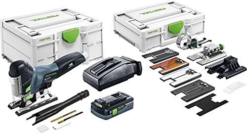 Festool Caladora de péndulo a batería PSC 420 HPC 4,0 EBI-Set CARVEX
