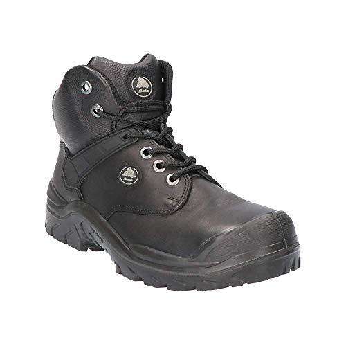 Bata, Enduro (ACT), zapatos de seguridad, ACT119W, botas de hueso S3, caña de piel de plena flor, suela de poliuretano, puntera de acero, plantilla de acero a prueba de perforación. ✅