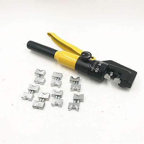 Herramientas Herramienta que prensa hidráulica hidráulica que prensa hidráulica Alicates Herramienta de compresión YQK-70 Oferta 4-70MM2 5-6T Presión herramientas