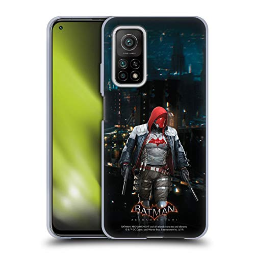Head Case Designs Oficial Batman: Arkham Knight Capucha Roja Personajes Carcasa de Gel de Silicona Compatible con Xiaomi Mi 10T 5G