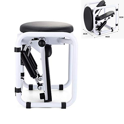 DSHUJC Multifunction Stool Stepper,Home Mini Hydraulic Mute Mountain Climbing Pedal Machine with Draw Rope,Multiple Slimming Mode Super Sound-Off Equipment
