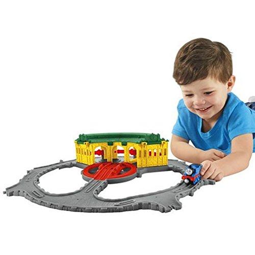 Thomas et ses Amis – Take-N-Play – Le Hangar de Tidmouth – Circuit + 1 Locomotive