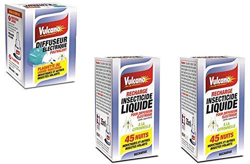 Diffuseurs Électriques Liquides/Prises anti-moustiques- 1 Di