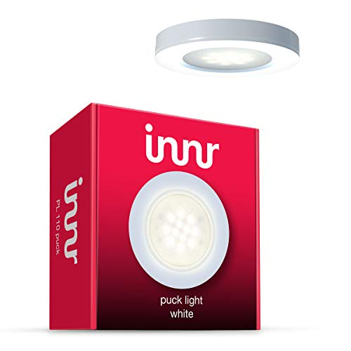 Innr Puck Light uitbreiding, 1 LED-lamp, warm wit, dimbaar (1-Pack - vereist complete set met control box) PL 110 Puck