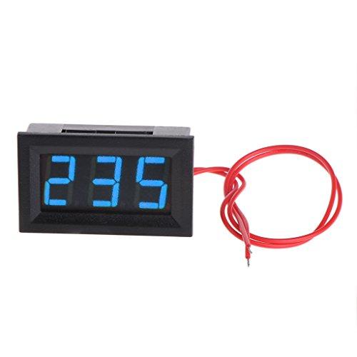 Besttse LED voltímetro digital AC 30 V-500 V Medidor de voltaje 0.56