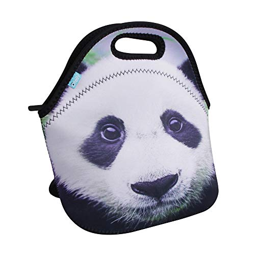 Lunch Boxes, OFEILY Lunch Tote Lunch bags with Neoprene(Middle, Panda)