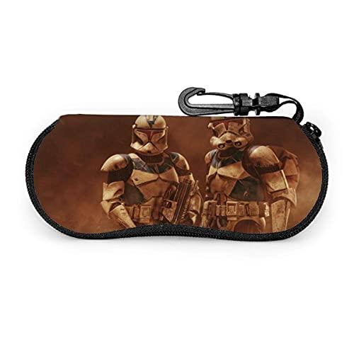 Fundas de Gafas Star Wars - Funda para gafas de sol portátil con cremallera de viaje
