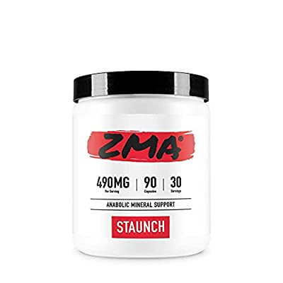 Staunch ZMA (Zinc, Magnesium and Vitamin B6)