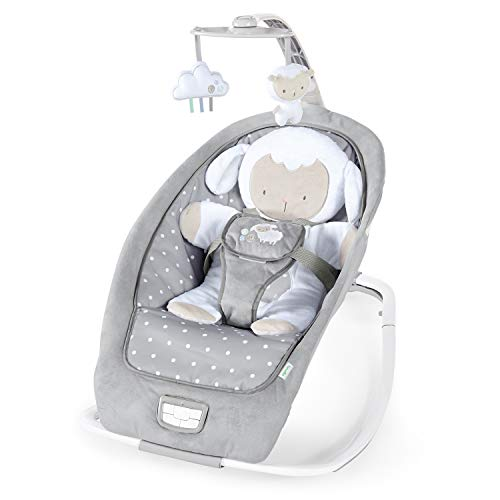 Ingenuity, 2 in 1 Babywippe, Cuddle Lamb