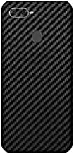 Oppo F9 Pro Back Cover/Case Mobile Sticker by Smart Saver - Black Carbon