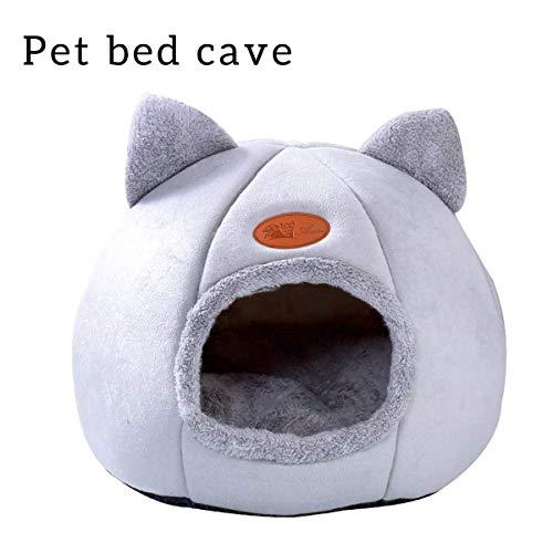 Queta Camas para Gatos,Casa para Gatos Interior, Nido de Mascotas,Cama