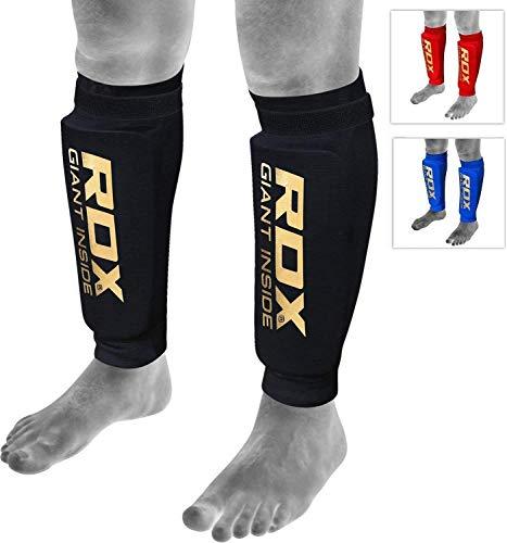 RDX Schienbeinschoner MMA Boxen Schienbeinschutz Kampfsport Kickboxen Schienbein Beinschützer Schienbeinschützer (MEHRWEG)