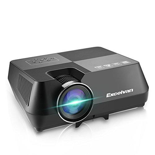 Excelvan Proyector, GT-S8 Proyector Portatil LCD 720p 1600 Lúmenes 2W...