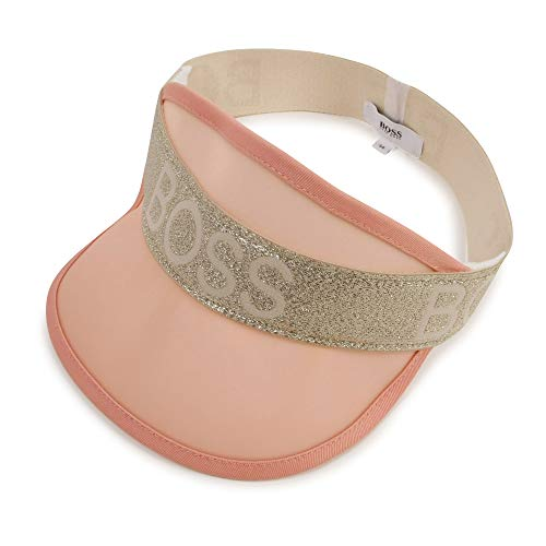 BOSS - Gorra con visera para niño rosa polvo 48 cm