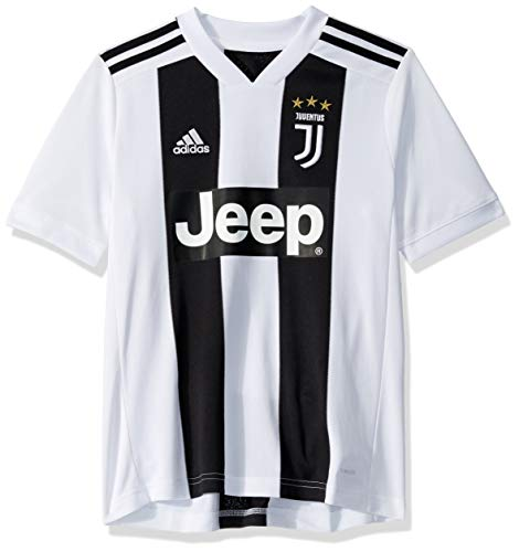 World Cup Soccer Juventus Soccer Youth Juventus FC Home Jersey, X-Large, Black