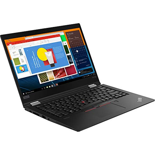Lenovo ThinkPad X13 Yoga Gen 1 13.3' Touchscreen 2 in 1 Notebook, Intel Core i7-10510U, 8GB RAM, 256GB SSD, Windows 10 Pro (20SX001XUS)