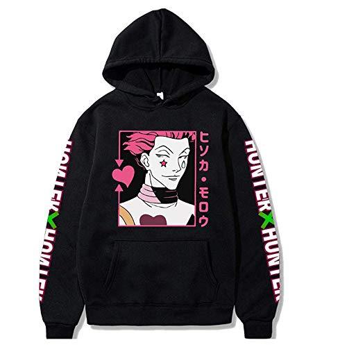 Anime Hunter x Hunter Hisoka Hoodies Anime HxH Sweatshirt Unisex Pullover