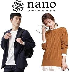 【最大60%OFF】ナノ・ユニバース メンズ・レディース 秋冬ファッション; セール価格: ¥990 - ¥41,580