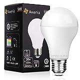 Awenia Bombilla LED Esférica E27 20W (Equivalente a 150W), Luz LED 4000K 2452 Lúmenes Blanco Neutro,1 Pack