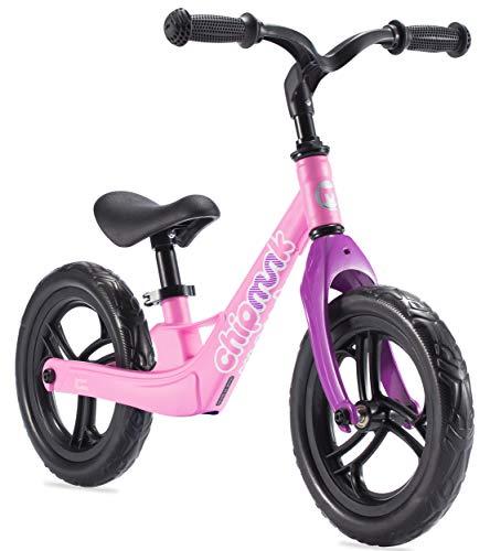 Chipmunk RoyalBaby Bicicleta de Equilibrio para niños y niñas de 2 a 5 años, sin Pedal, con Marco de…