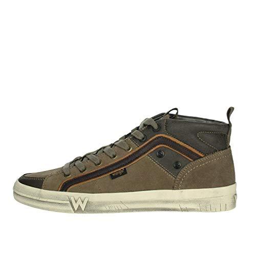 Wrangler WM92105A Sneakers Harren (Braun, Numeric_45)