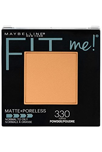 Maybelline New York Matte + Poreless Pressed Face Powder Makeup, Toffee, 8.5 Grams