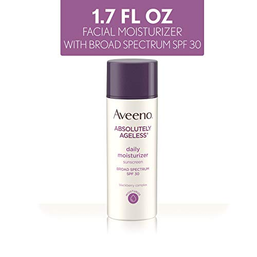 Aveeno Absolutely Ageless Daily Moisturizer W/Sunscreen Spf 30, 1.7 Ounce